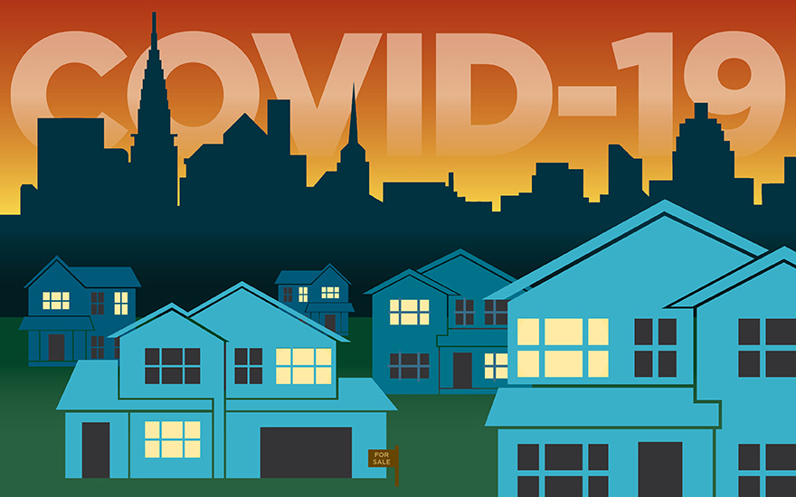 Covid impact on real estate