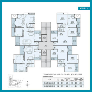 Zen Estate Kharadi Floor Plan