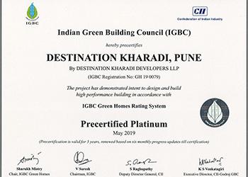 IGBC Certrificate