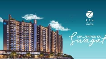 Zen Estate Kharadi Presents 'Khushiyon ka Swagat' For Its Patrons