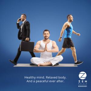 healthy living at zen estate